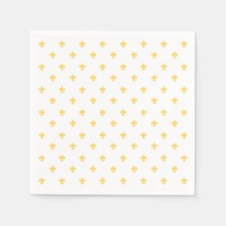 Heraldic Lilly Disposable Napkins