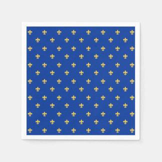 Heraldic Lilly Paper Napkins