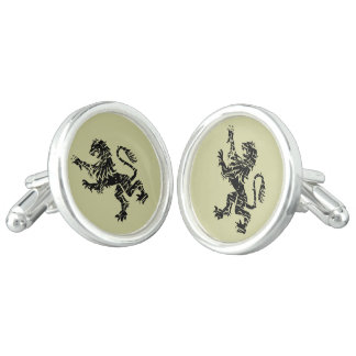 Heraldic Lions Pair of Cufflinks