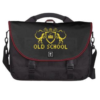 Heraldic Pixel Dinosaur Laptop Bag