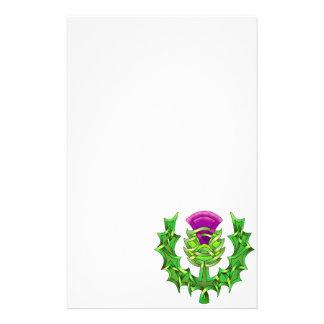 Heraldic Thistle Stationery