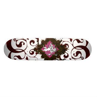 Heraldic Unicorn Custom Skateboard