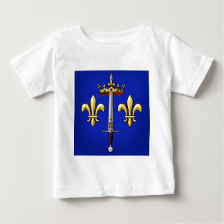 Heraldry of Joan of Arc Jeanne d'Arc Baby T-Shirt