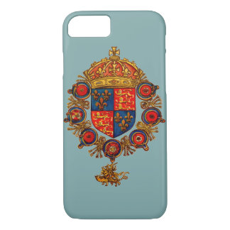 Heraldry with Crown iPhone 7 Case