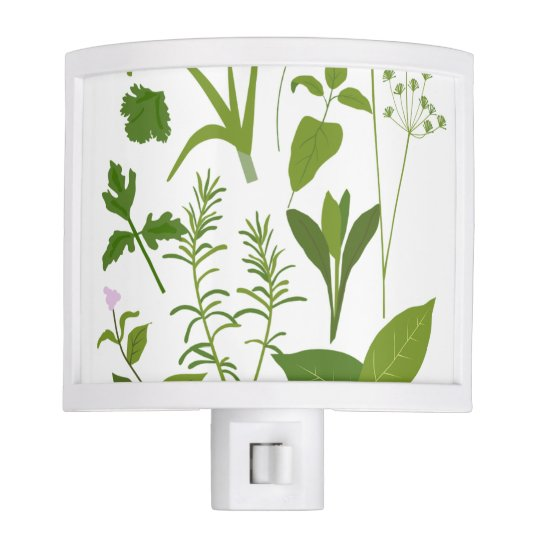 Herb Collection Night Light