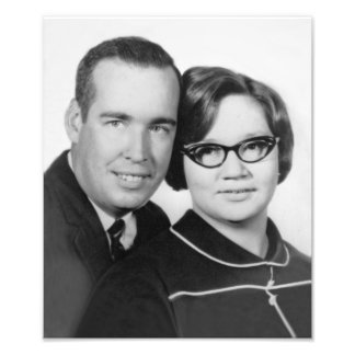 Herb & Sue's 1967 Engagement Photo