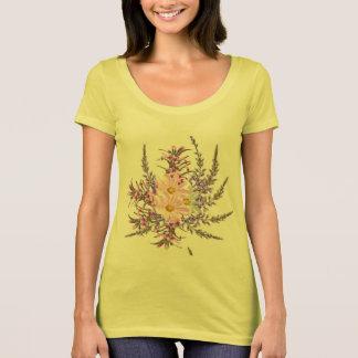 Herbal girls tshirt : yellow