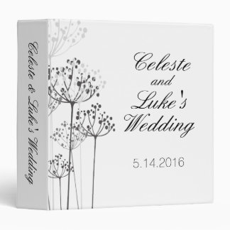 Herbal Rhapsody Wedding 3 Ring Binder