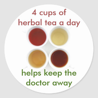 herbal tea stickers
