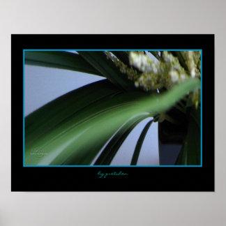 Herbe, affiche de Heather par arrière - plan Gretc