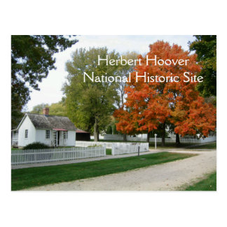 Herbert Hoover Birthplace Postcard