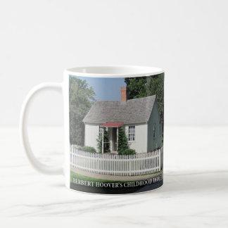 Herbert Hoovers Childhood Home Historical Mug