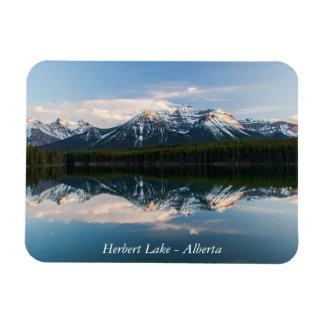 Herbert Lake, Alberta, Canada magnet