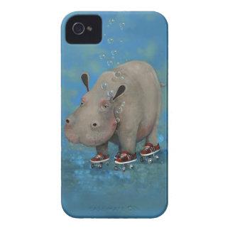 Herbert the Hippo iPhone 4/4s case