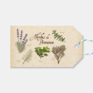 Herbes de Provence, Recipe, Lavender, Thyme, Pack Of Gift Tags