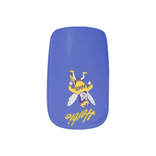 Herbie the Hornet Minx Nails Nails Stickers