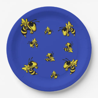 Herbie the Hornet Paper Plates