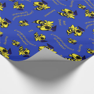 Herbie the Hornet w/Graduation Cap Wrapping Paper
