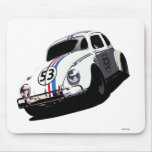 Herbie The Love Bug Disney Mouse Pad