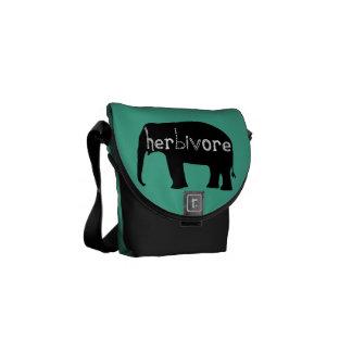 Herbivore - Elephant - Blue Commuter Bags