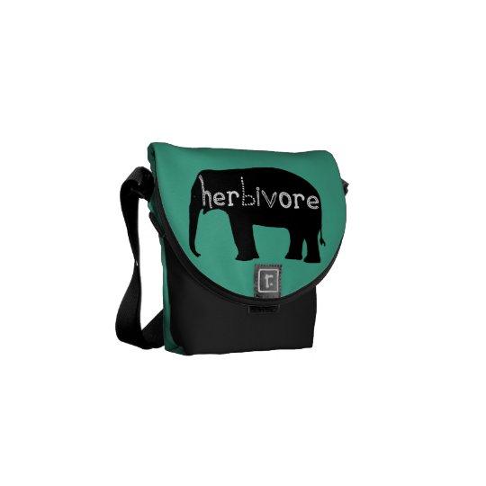 Herbivore - Elephant - Blue Courier Bag