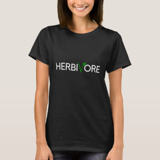 Herbivore White (Male and Female) T-Shirt