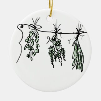 Herbs Ceramic Ornament