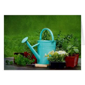 Herbs/Flowers/Gardening - Blank Card