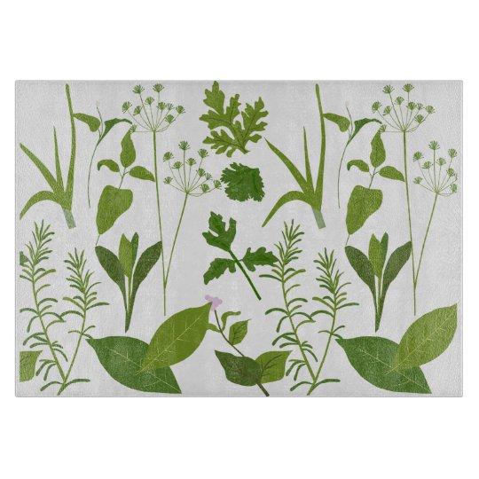 Herbs Herb Cutting Board