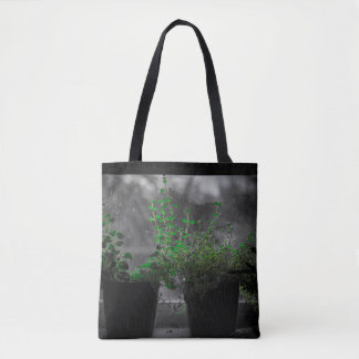 Herbs in the Window Bag - Thyme Shopping Tote