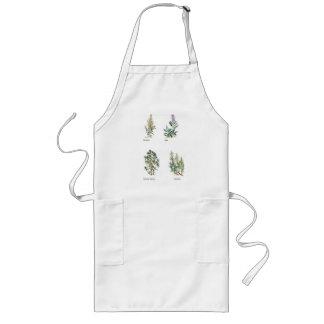 Herbs Long Apron