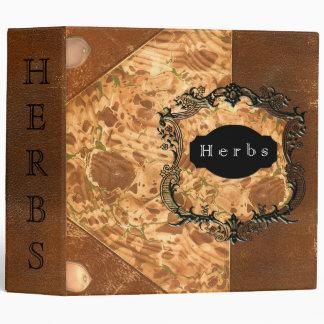 Herbs Vinyl Binder