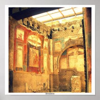 Herculaneum Interior Print