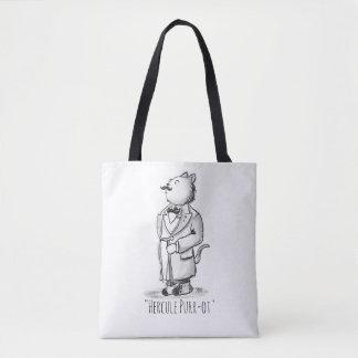 Hercule Purr-ot Cat Detective! Tote Bag