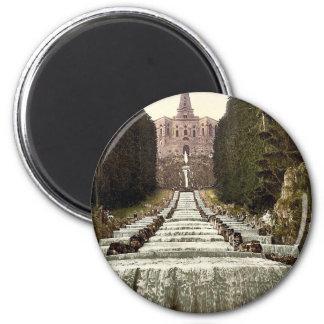 Hercules and Cascades, Wilhelmshohe, Cassel (i.e., 2 Inch Round Magnet