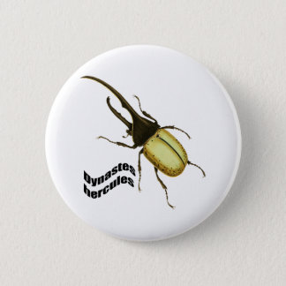 Hercules Beetle 2 Inch Round Button