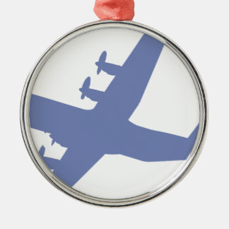 Hercules C-130 Metal Ornament