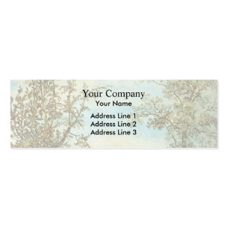 Hercules Seghers: Two Trees Business Card Template
