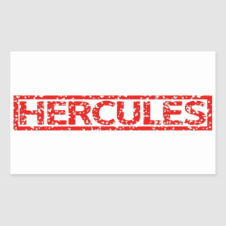 Hercules Stamp Sticker