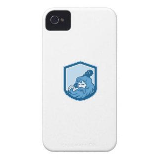 Hercules Wielding Club Shield Retro iPhone 4 Cases