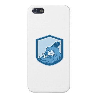 Hercules Wielding Club Shield Retro iPhone 5 Cover