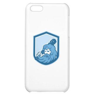 Hercules Wielding Club Shield Retro Cover For iPhone 5C