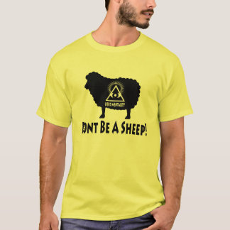 Herd Mentality - Don't Be A Sheep T-shirt