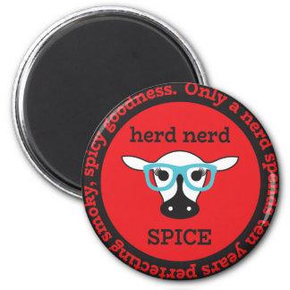 herd nerd SPICE swag Magnet
