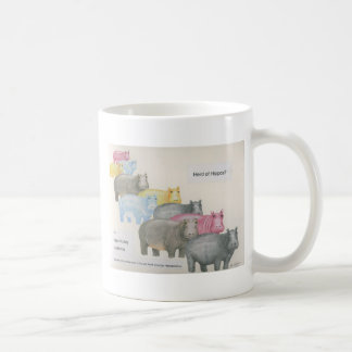 Herd of Hippos? Coffee Mug