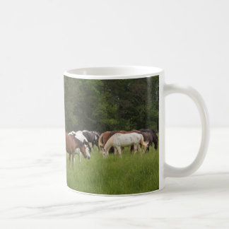 Herd of horses, Tennessee Coffee Mug
