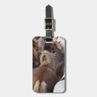 Herd of Icelandic horse Luggage Tag