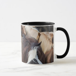 Herd of Icelandic horse Mug
