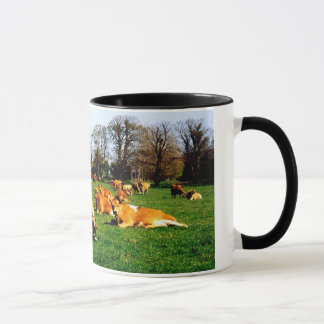 HERD OF JERSEY COWS MUG
