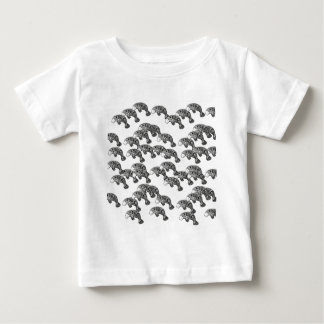 Herd of Manatee Baby T-Shirt
